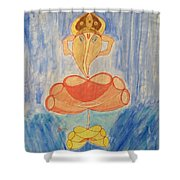 Almighty Shower Curtain