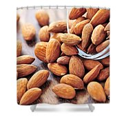 Almonds Shower Curtain