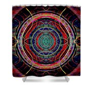 Almost Mandala Shower Curtain