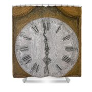 Almost Six O'clock Shower Curtain