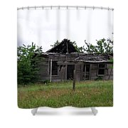 Almost Sticks Shower Curtain