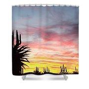 Aloe Ferox  South Africa Shower Curtain