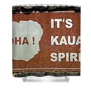Aloha Kauai's Spirit Shower Curtain