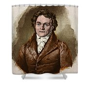Alois Senefelder, German Inventor Shower Curtain