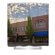 Along 6th Street In Grants Pass Shower Curtain