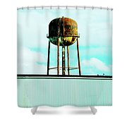 Along Highway 61 Shower Curtain