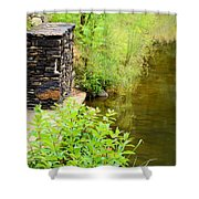 Along The Shallow Water Shower Curtain