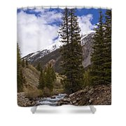 Along The Silverton Northern Shower Curtain