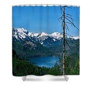 Alp See Lake In Bavaria Germany Shower Curtain
