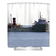 Alpena Ship Shower Curtain