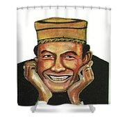 Alphadi Shower Curtain