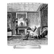 Alphonse De Lamartine Shower Curtain