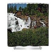 Alpine Falls Lake Tahoe II Shower Curtain