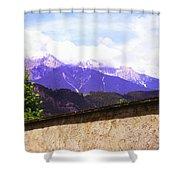 Alpine Wall Shower Curtain
