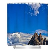 Alps II Shower Curtain