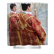 Altar Boys Shower Curtain