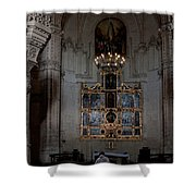 Altar Shadowed And Shining Shower Curtain