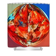 Alternate Realities 3 Shower Curtain