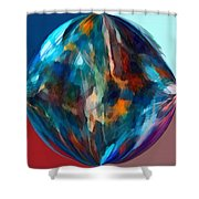 Alternate Realities 4 Shower Curtain by Angelina Vick