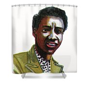 Althea Gibson Shower Curtain