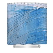 Aluminum Wave Shower Curtain
