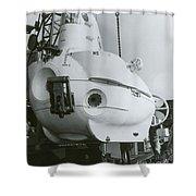 Alvin, Deep Sea Ocean Research Vessel Shower Curtain