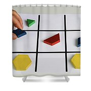 Alzheimers Puzzle Shower Curtain