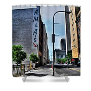 Am And As Downtown Buffalo Shower Curtain
