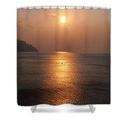 Amalfi Sunset Shower Curtain