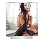 Amandine Ethereal Shower Curtain