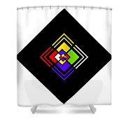 Amazing Space Shower Curtain