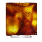 Amber Colors Shower Curtain