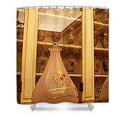 Amber Pharmacy Bottle Shower Curtain