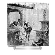 Ambroise Par�, French Surgeon, Pioneer Shower Curtain by Science Source