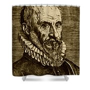 Ambroise Paré, French Surgeon Shower Curtain by Science Source
