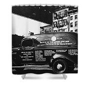 Ambulance, Late 1930s, Nyc Shower Curtain