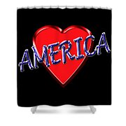 America Shower Curtain