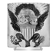 America: Coat Of Arms Shower Curtain