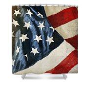 America Flag Shower Curtain