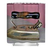 American Beauty Iron Shower Curtain
