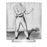 American Boxer, 1860 Shower Curtain