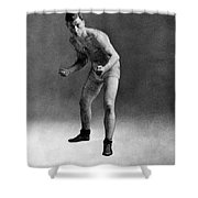 American Boxer, C1910 Shower Curtain