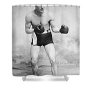 American Boxer, C1912 Shower Curtain