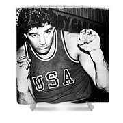 American Boxer, C1982 Shower Curtain