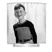 American Boy Shower Curtain