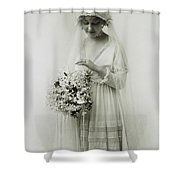 American Bride, C1925 Shower Curtain