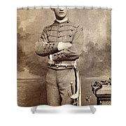 American Cadet, C1870 Shower Curtain