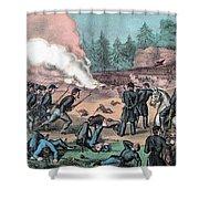 American Civil War, Battle Of Cold Shower Curtain