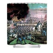 American Civil War, Capture Of Atlanta Shower Curtain