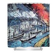 American Civil War, Farraguts Fleet Shower Curtain